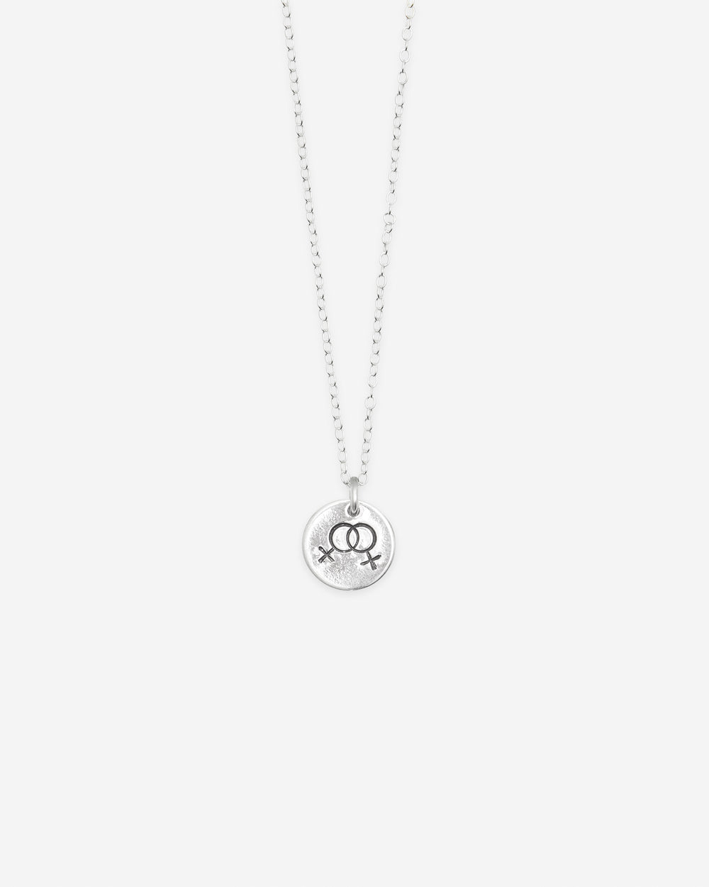 Double Venus Circle Necklace