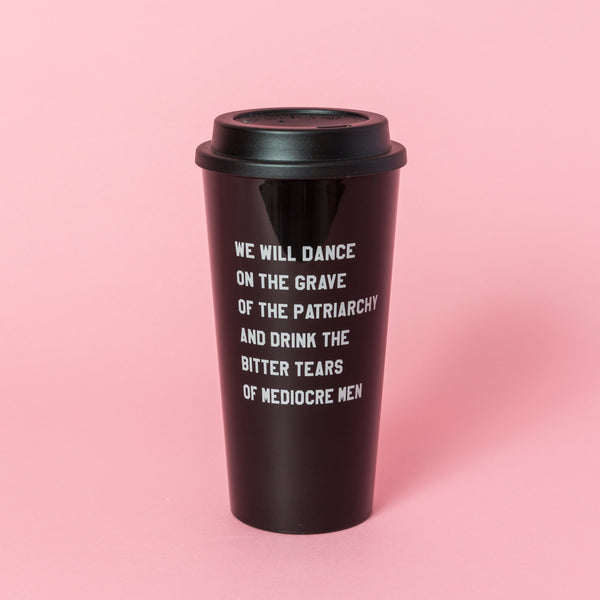 Mediocre Man Tears Travel Mug