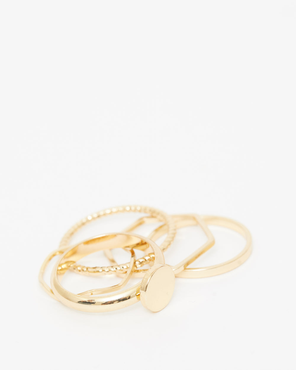 Daily Romance Ring Set