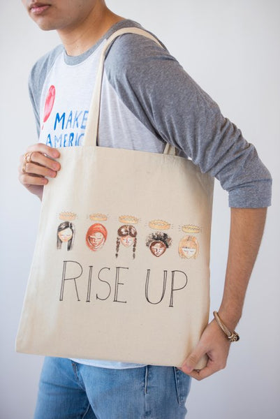 Rise Up Tote Bag