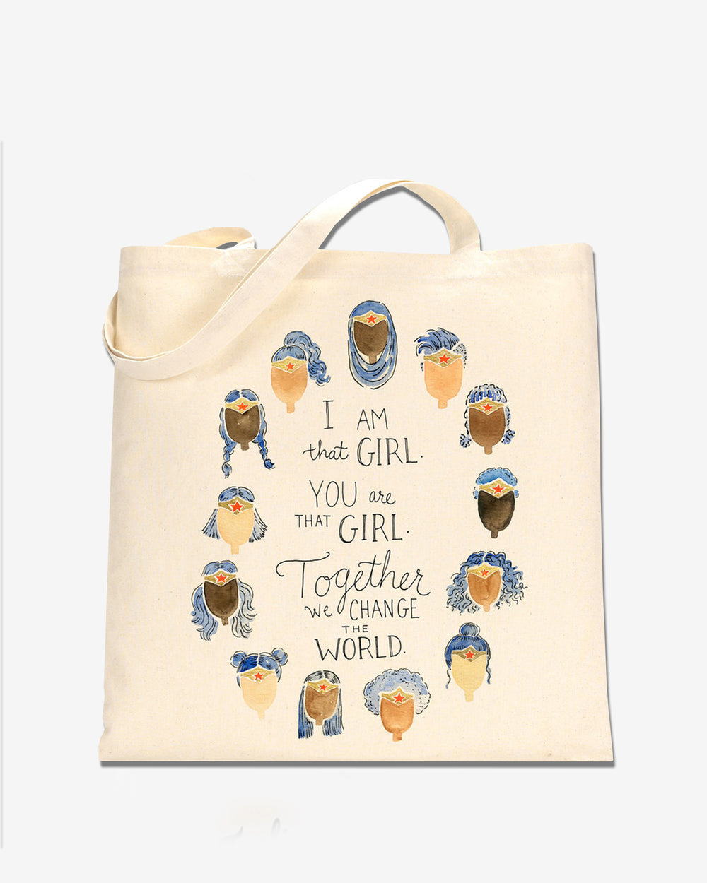 I Am That Girl Wonder Woman Tote Bag