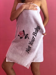 Not Your Baby Beach Towel