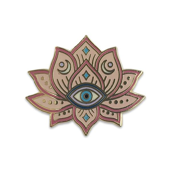 Mystical Lotus Enamel Pin