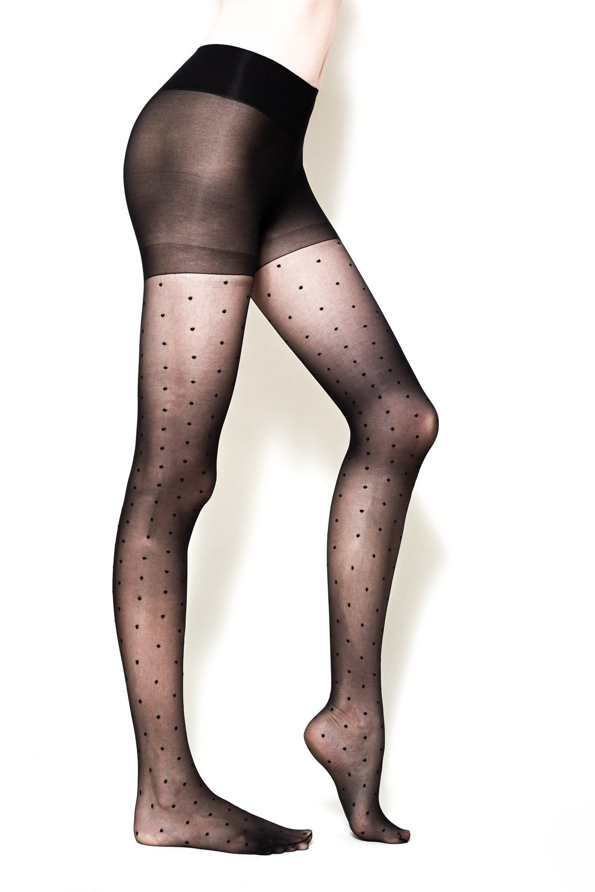Polka-Dot Tights