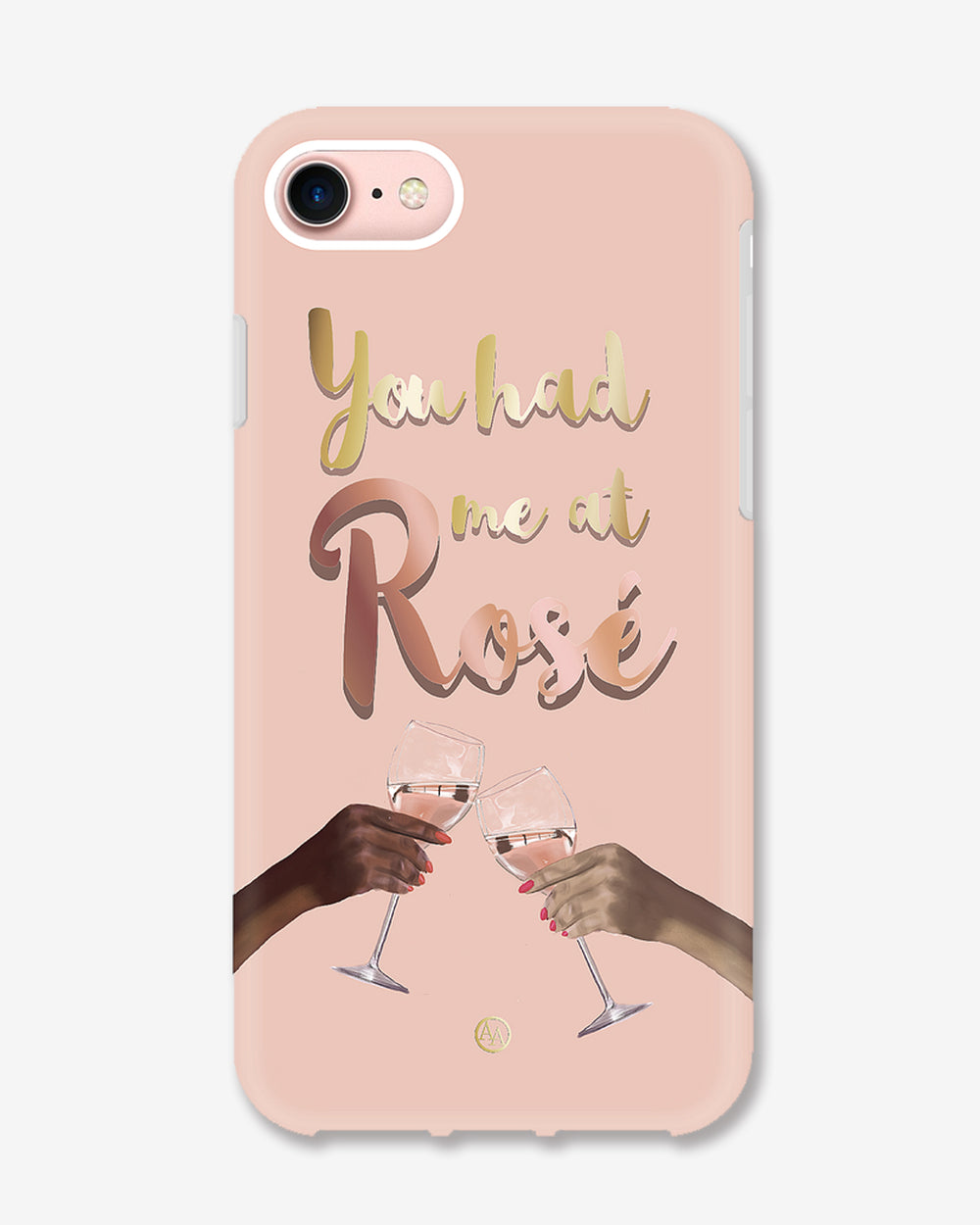 You Had Me At Rosé (Shockproof Phone Case)