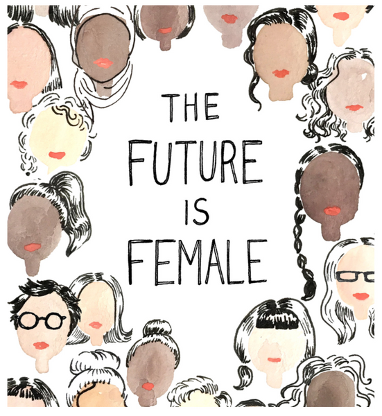 The Future Is Female Print 11x14