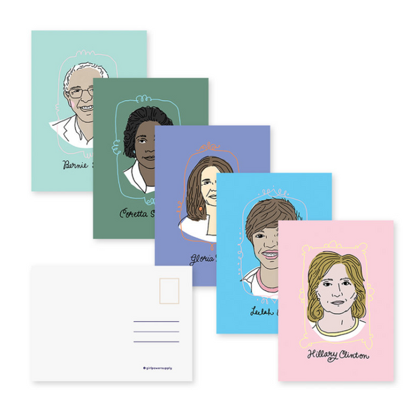 A Few Good Feminists Postcards (Set of 5)