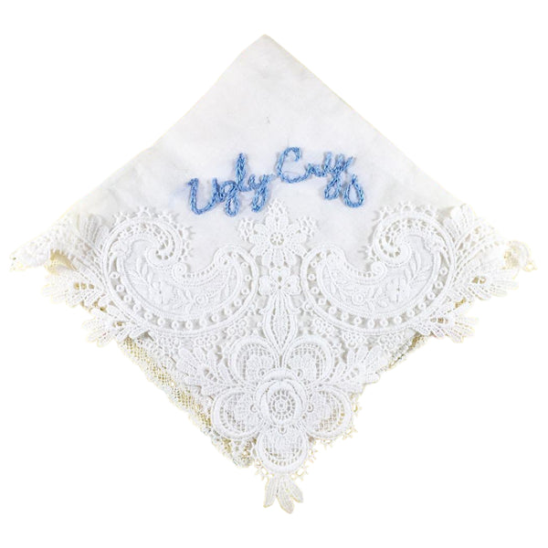 Assorted Vintage Embroidered Handkerchiefs