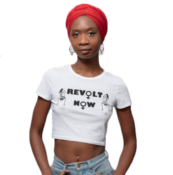 Revolt Now Crop Top