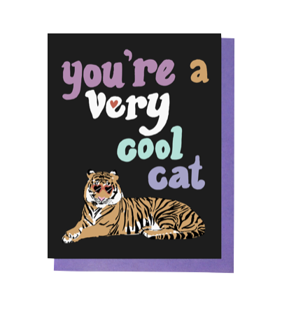 Very Cool Cat Card