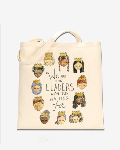 We Are the Leaders Tote