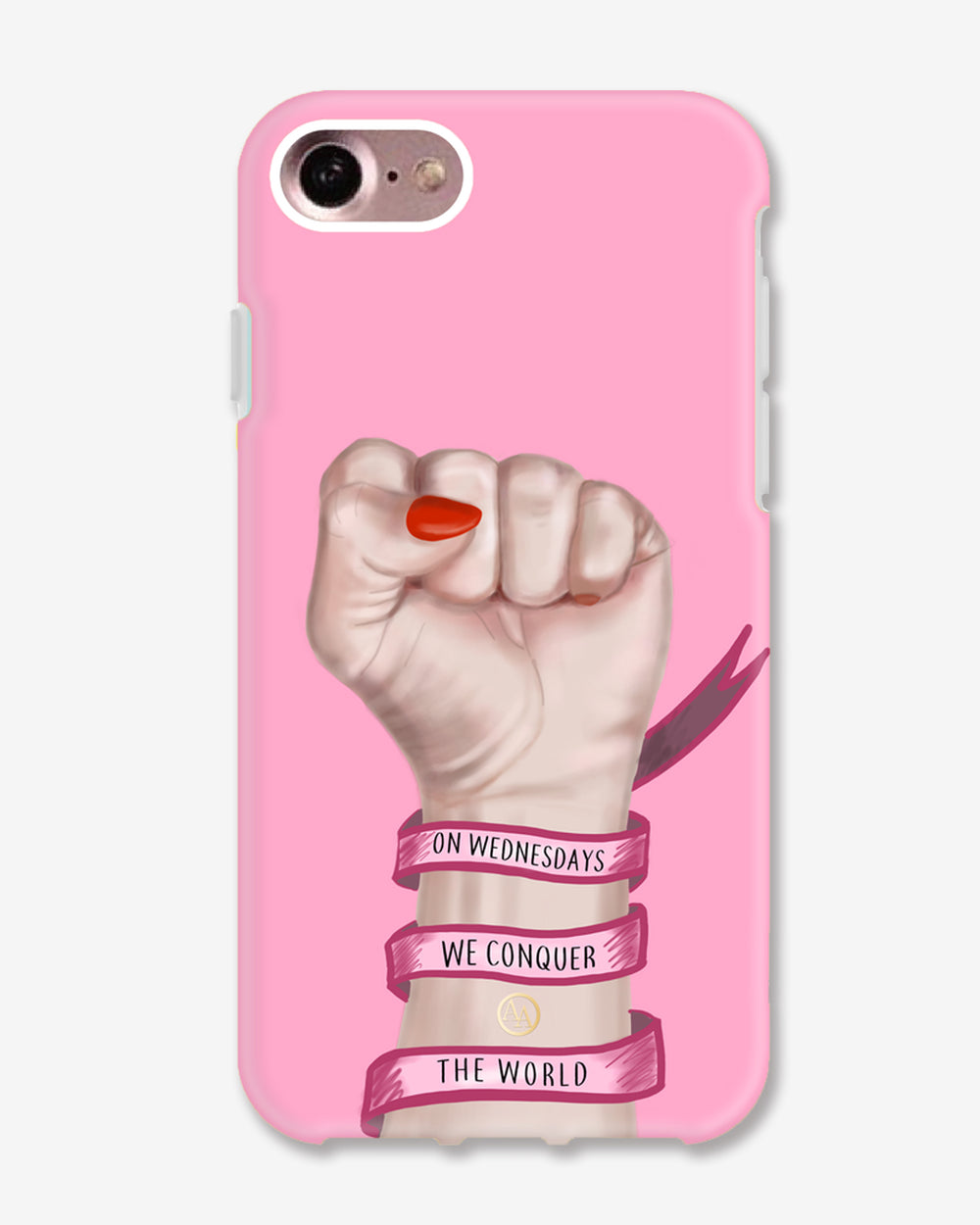 On Wednesdays We Conquer the World (Shockproof Phone Case)