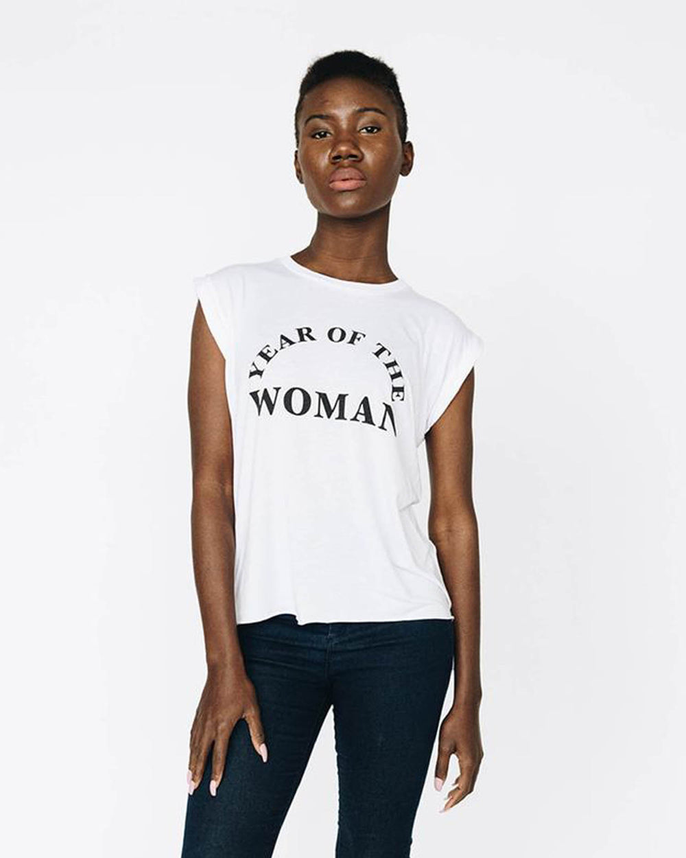 Year of the Woman Flowy Tank