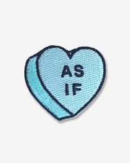 As If Candy Heart Patch
