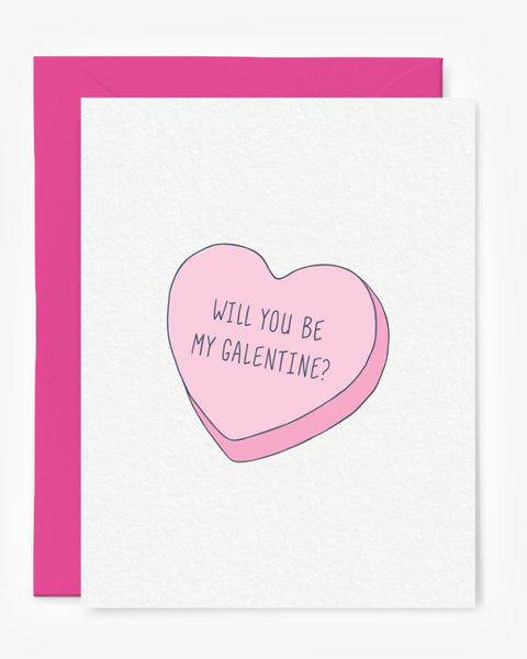 Will You Be My Galentine Card