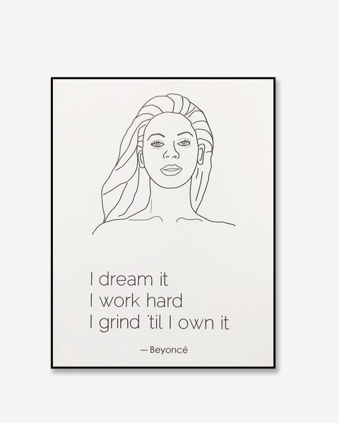 Beyoncé Greeting Card