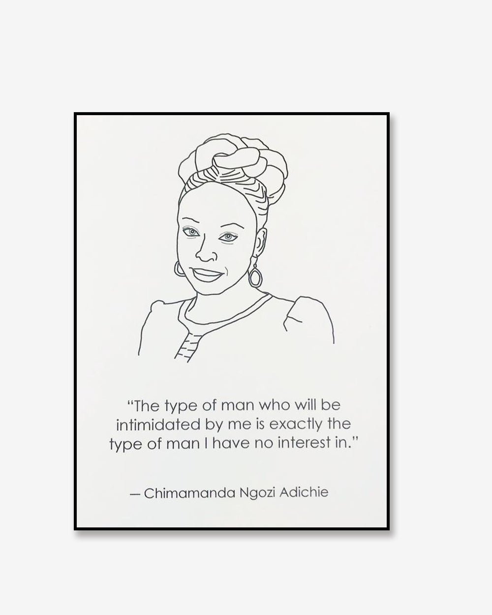 Chimamanda Greeting Card