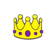 Crown Emoji Enamel Pin