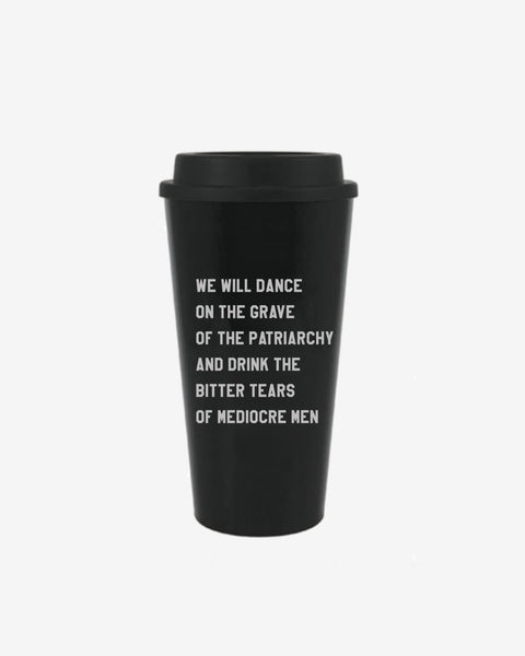 Dance on the Patriarchy's Grave Travel Mug