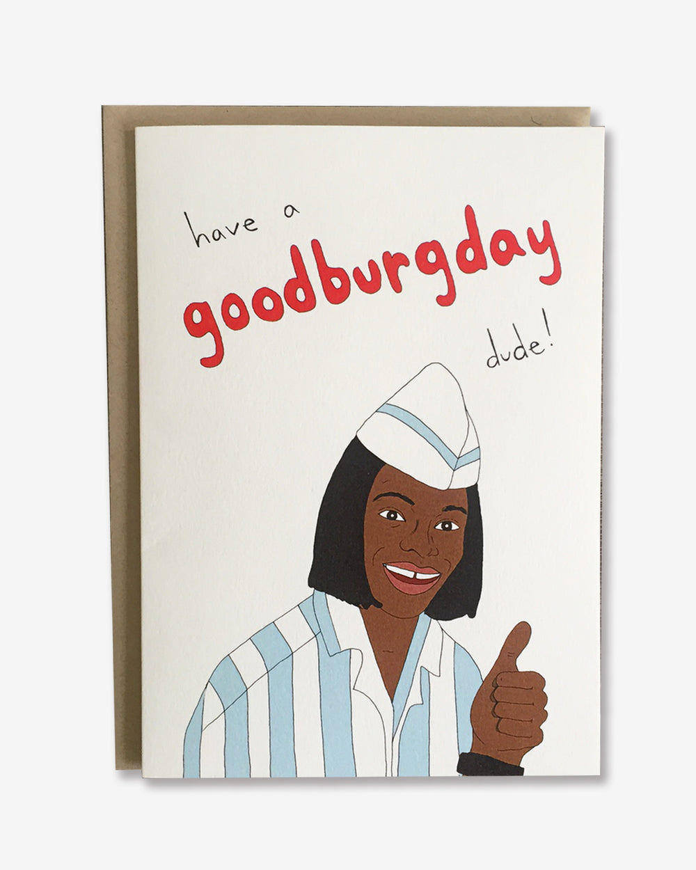 Goodburgday Card