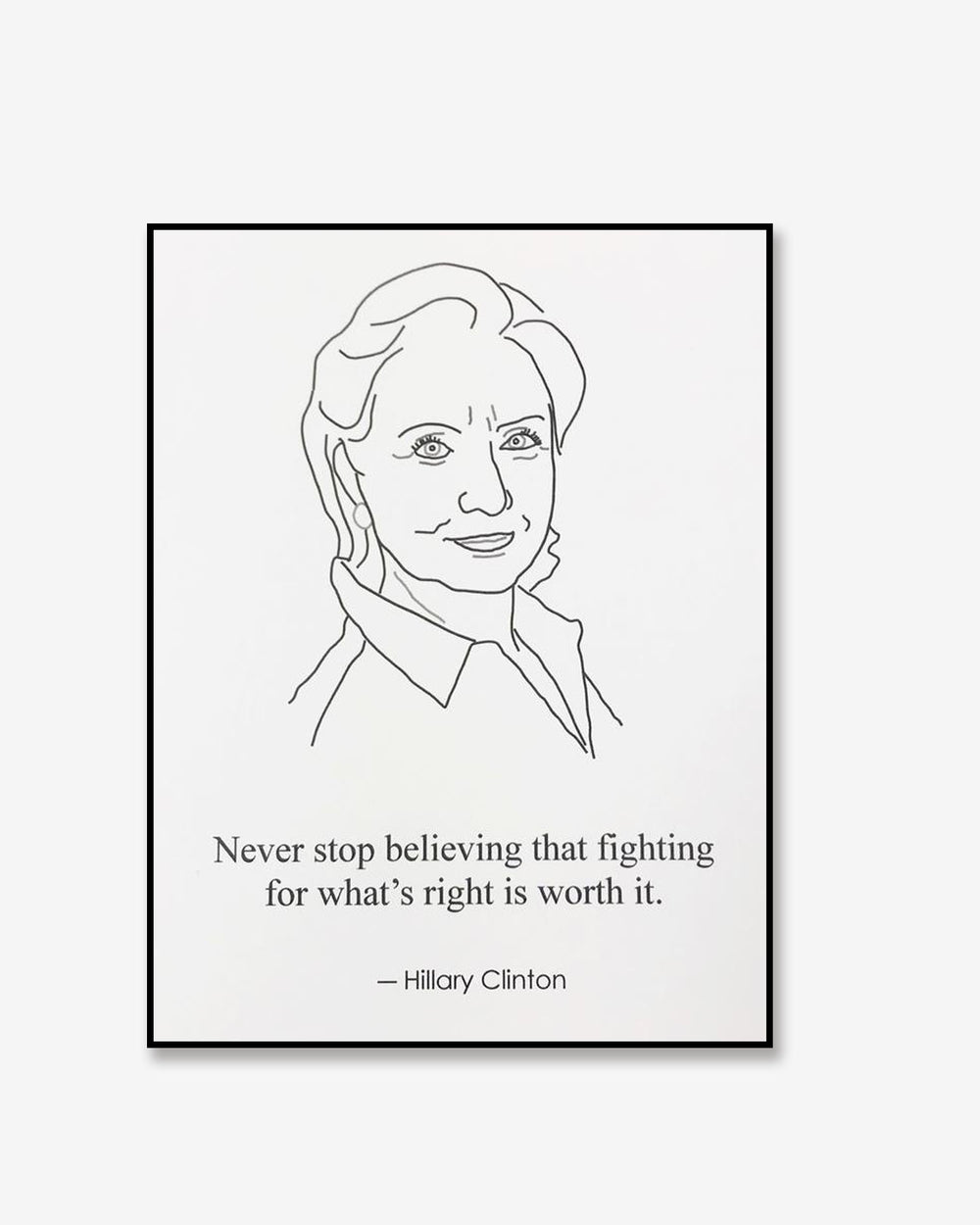 Hillary Greeting Card