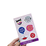 Feminist Sticker Sheet