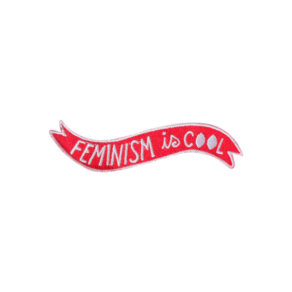 Feminism is Cool Patch