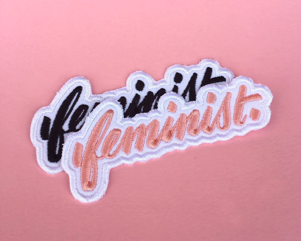 Feminist Embroidered Patch (Small)