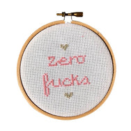 Zero Fucks Stitch