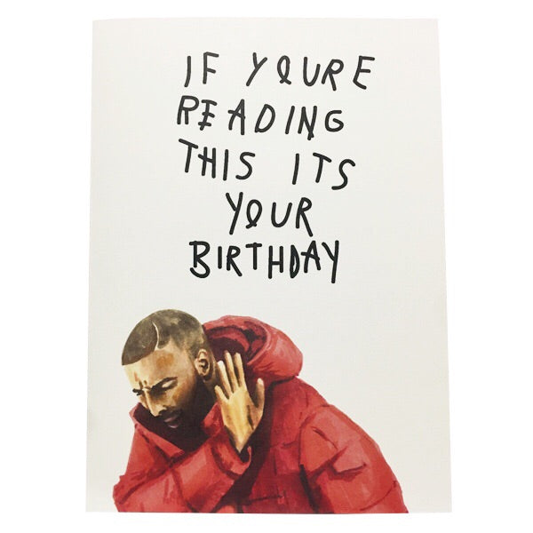 Drake Birthday Card