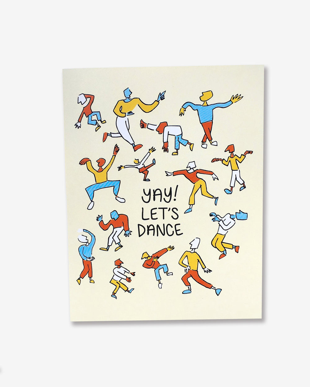Yay! Let's Dance Card