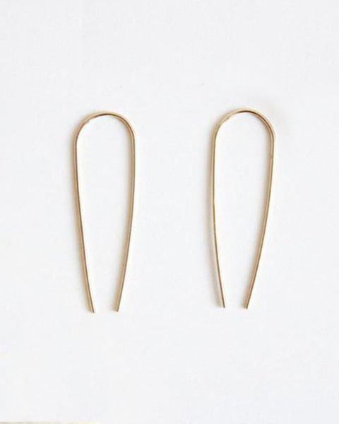 Long Arc Earrings