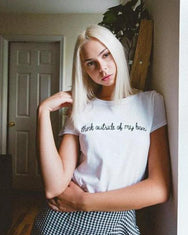 Think Outside My Box Tee