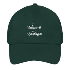 I Believe In Science Dad Cap