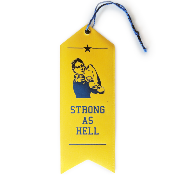 Strong as Hell Ribbon