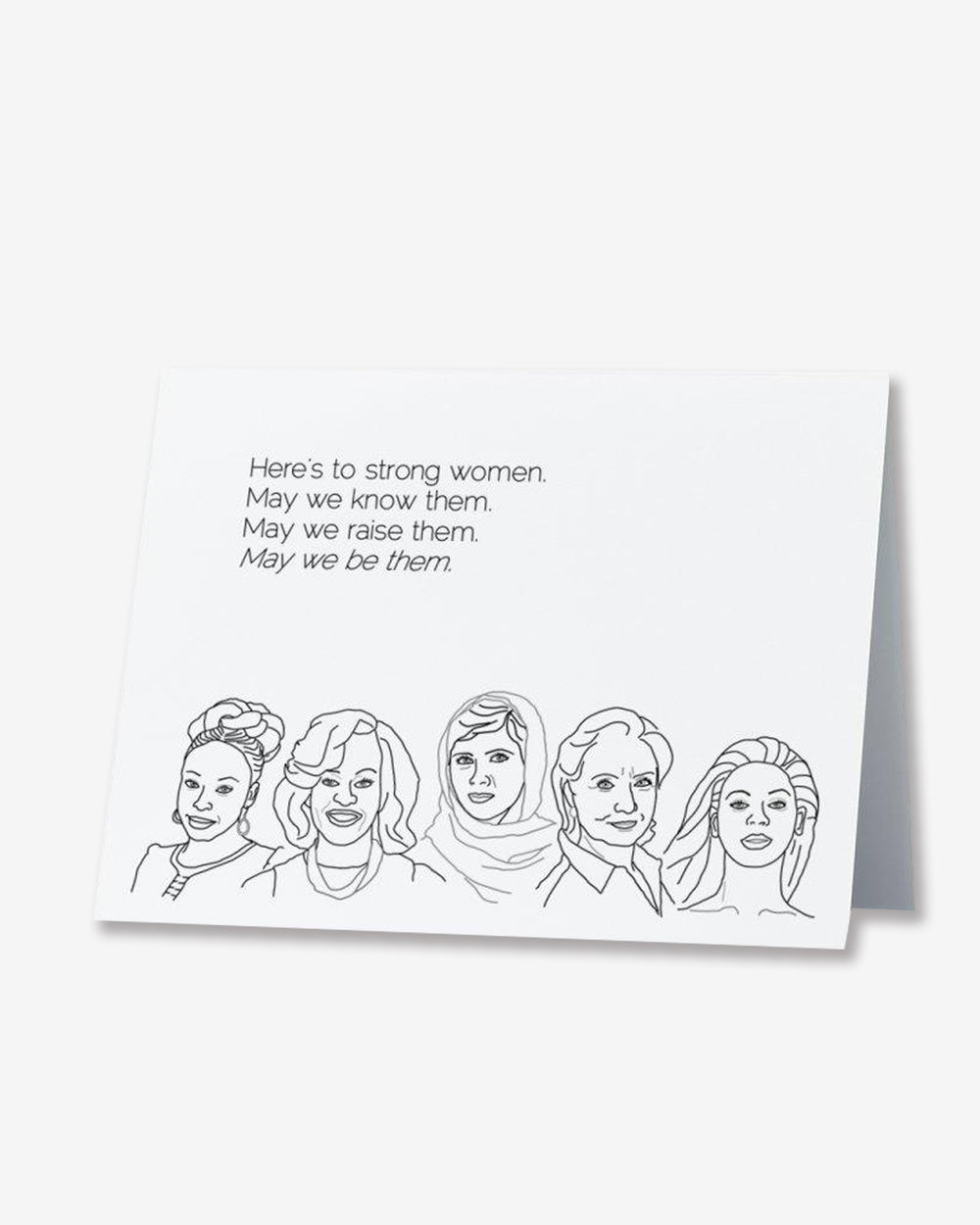 Feminists Greeting Card