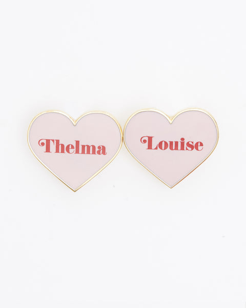 Thelma & Louise BFF Pins