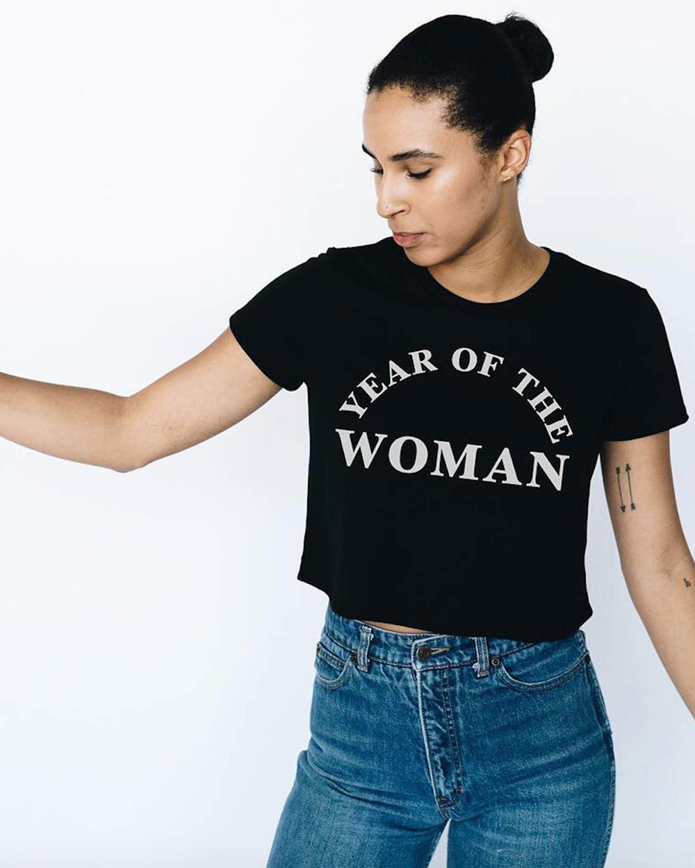 Year of the Woman Crop Top