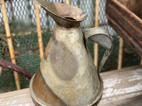 Large Vintage Oil Pourer