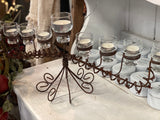XL 9 Glass Candlelabra IN STORE Collection
