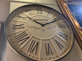 Faversham Clock Co Metal Clock