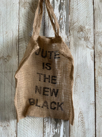 Jute Is the NEW Black Bag