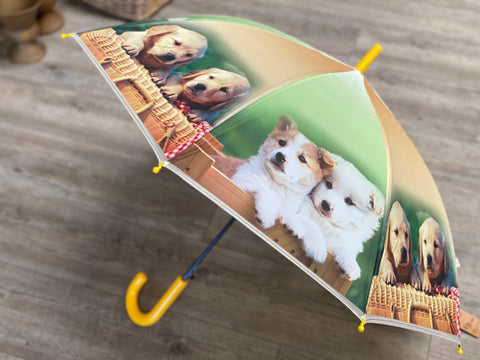 Children's PUPPY Umbrella FREE Postage