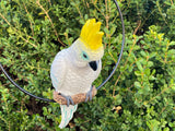 XL Hanging Cockatoo Ring