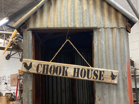 XL CHOOK House Sign