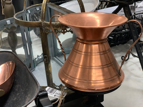Vintage Copper Vessel
