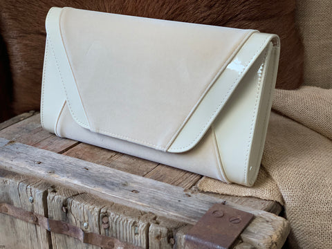 Cream Occasional Large Clutch