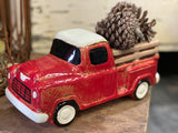 RED Ceramic UTE Planter FREE Postage