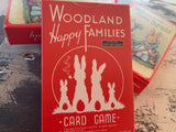 WOODLAND and HAPPY Families Card Reto GAME