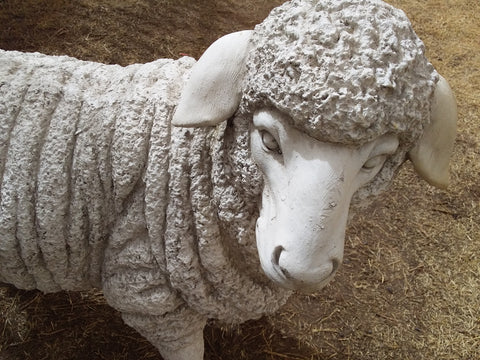 Large Sheep Garden Decor